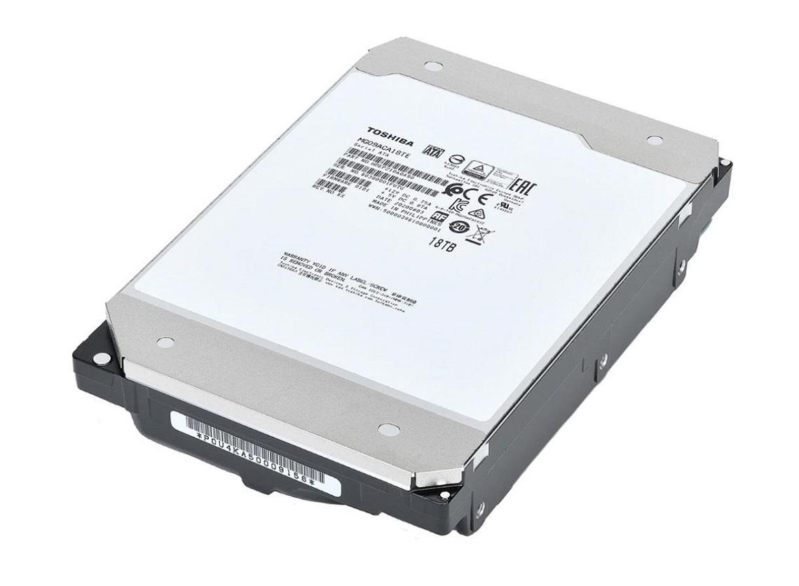 Toshiba представляет жесткие диски серии MG09 емкостью 18 ТБ