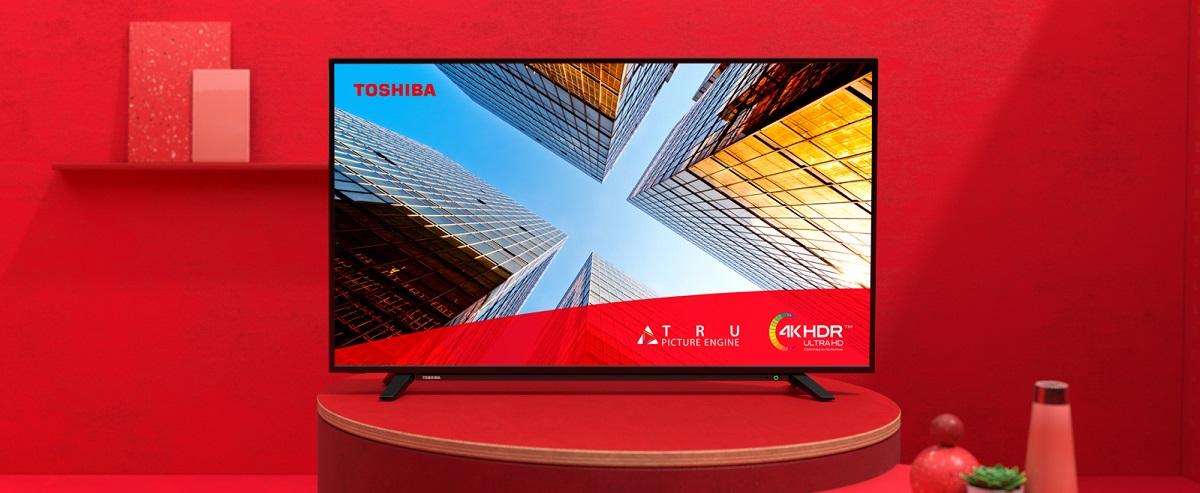 Toshiba UL20 – 4K HDR на большом экране