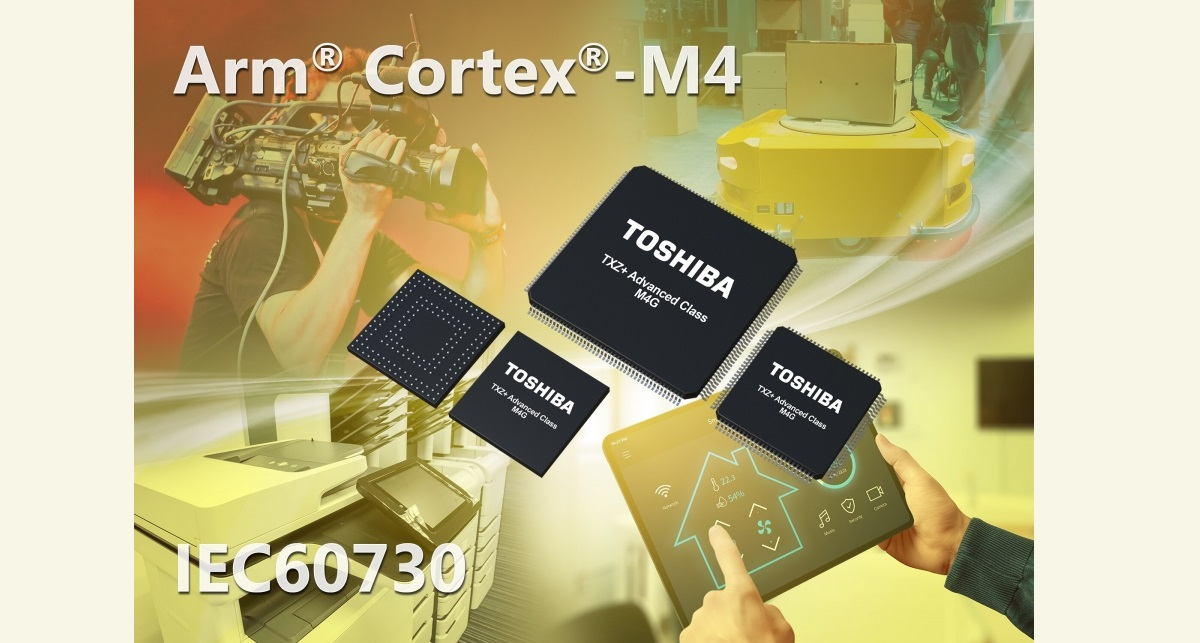 Новая группа микроконтроллеров Toshiba Arm Cortex-M4 M4G для высокоскоростной обработки данных в семействе TXZ +